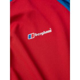 Berghaus Tech 2.0 Tee SS Crew Baselayer Herren haute red/snorkel blue